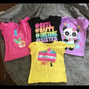 Girls tops size 3T-5T